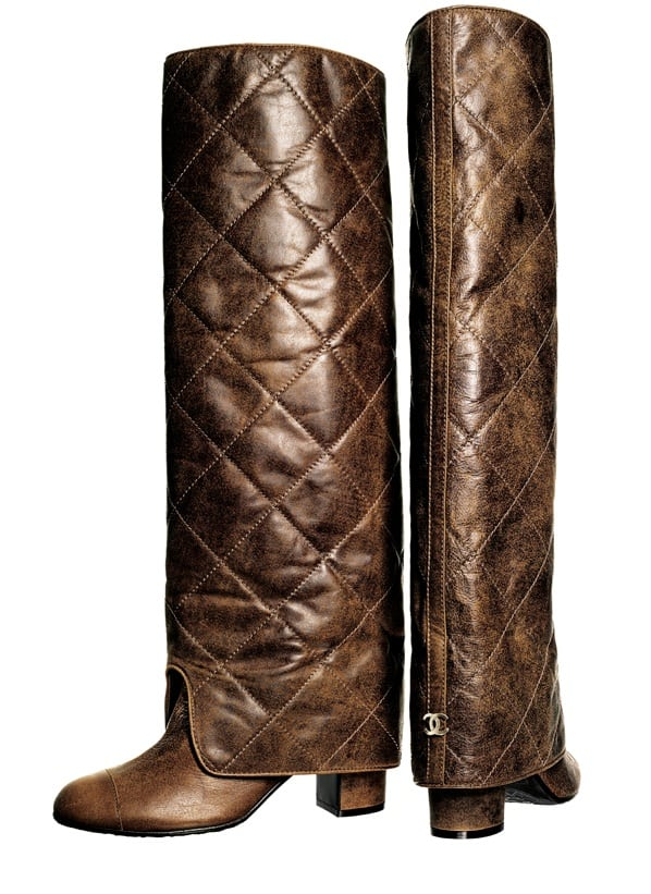 AW2011_Chanelboots_brown
