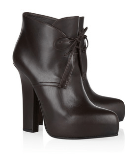 Bottega Veneta lace-up ankle boot