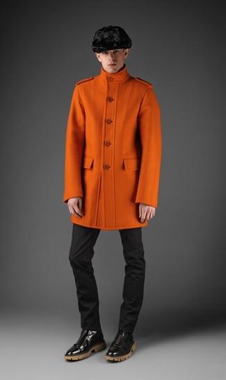 Burberry_prorsum_jas_oranje