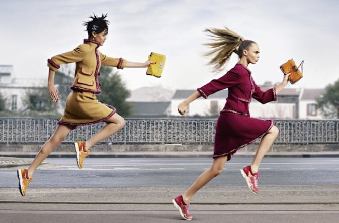 Chanel-tweed-sneakers-campaign