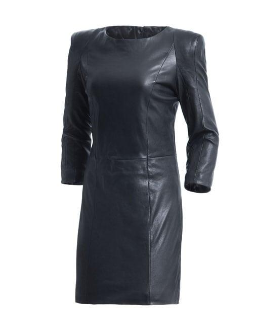 DNA_leren jurk