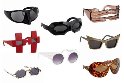Futuristische brillen