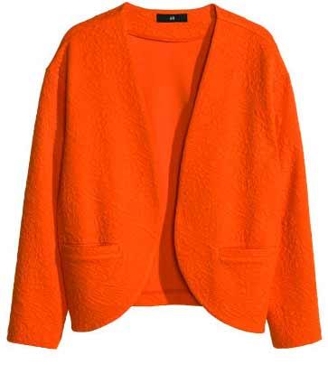 H&M-blazer-oranje