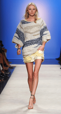 Isabel Marant patch knit ss2012