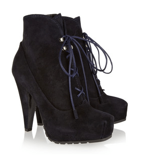 Proenza Schouler lace-up ankle boot