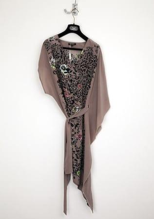 Unconditional dress leopard flowers 2