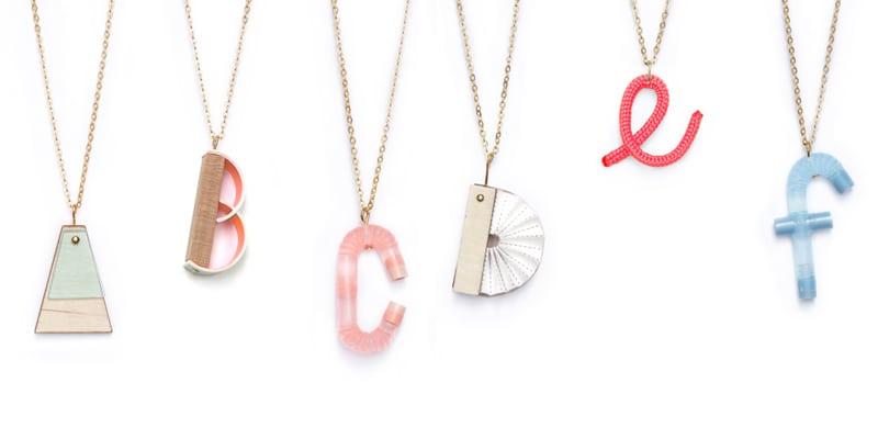 Het alfabet volgens TURINA.Jewellery