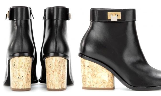 Balenciaga's wood boots