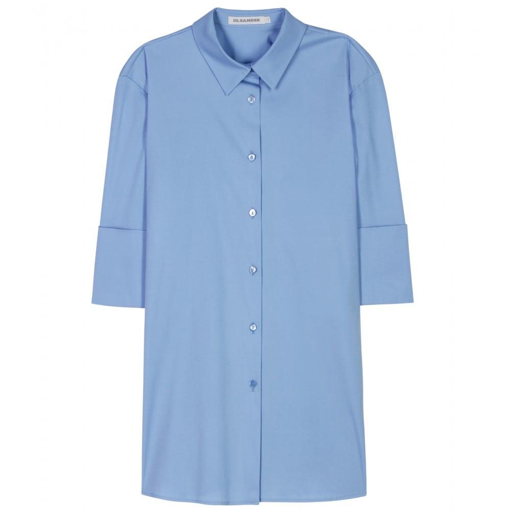 Overhemd kleurt blauw
