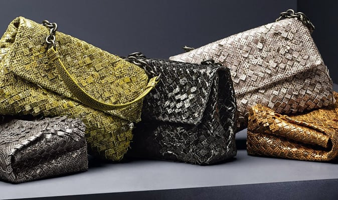 Bottega Veneta's 3D Olimpia bag