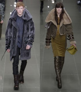 Burberry Prorsum's warme winter