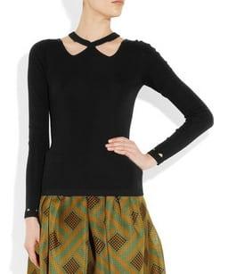Zwarte sweater van Burberry Prorsum