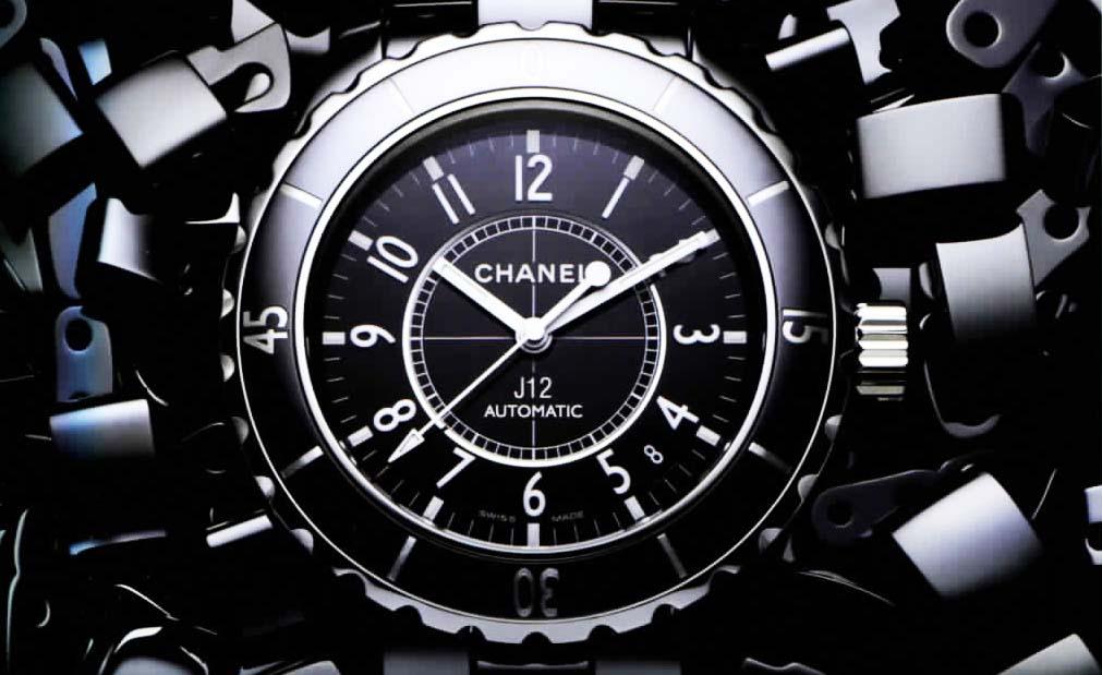 J12 van Chanel om je pols