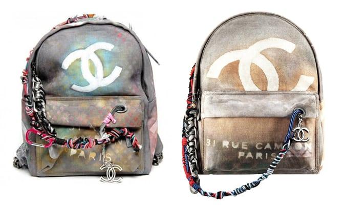 Stoere rugzakken van Alexander McQueen, Chanel en Mulberry