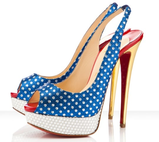 Sky high met Christian Louboutin