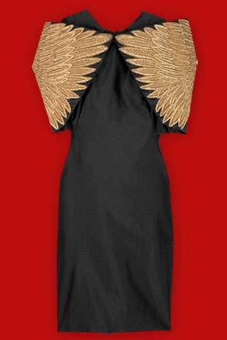 Alexander McQueen's golden wings
