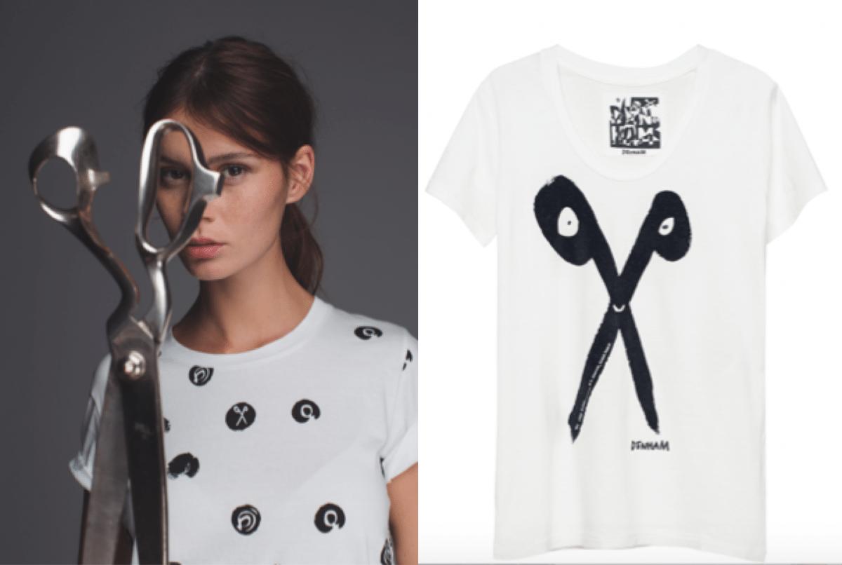 Scissor shirts van Denham