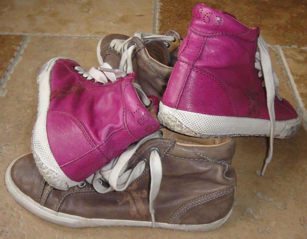 Gevonden op Vlieland: Frye sneakers