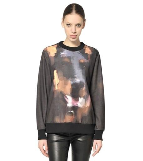 Givenchy speelt met prints