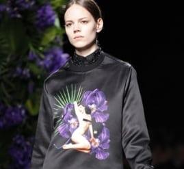 Givenchy goes pin-up