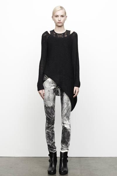 Tie dye jeans van Helmut Lang