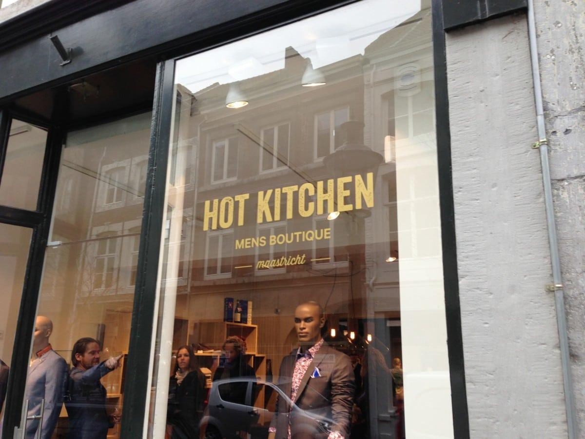 Hot Kitchen concept store met ballen