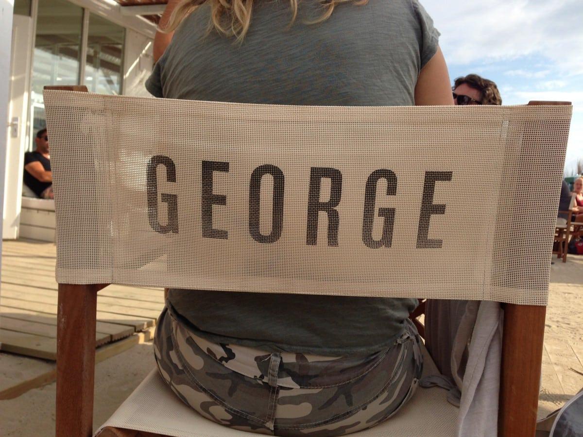 George No. 5 in Zandvoort