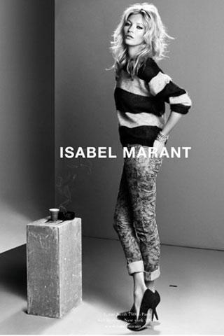 Isabel Marant & Kate Moss