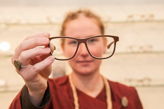 Marsha Kessels en de brillen van Rolf