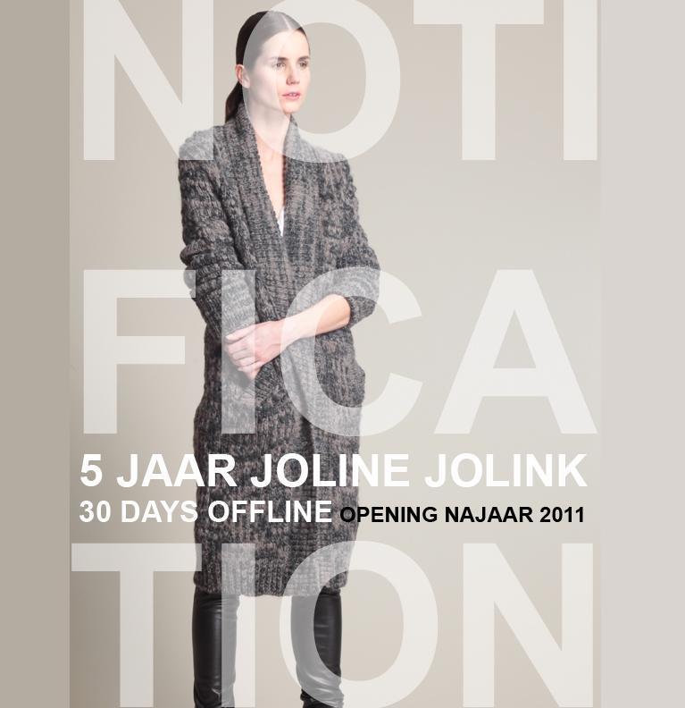 Joline Jolink gaat 30 dagen offline
