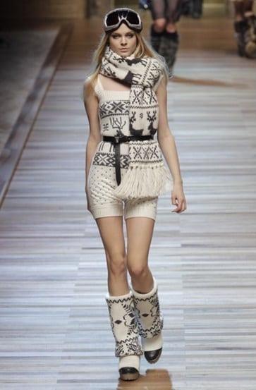 Chanel en D&G boots