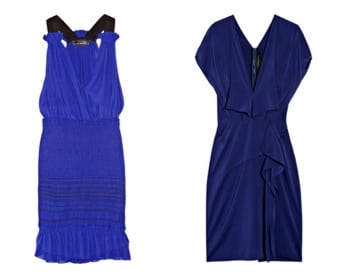 Little blue dress by Isabel Marant & Roland Mouret