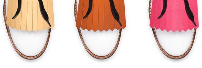 Vrolijke fringe schoenen van Marni