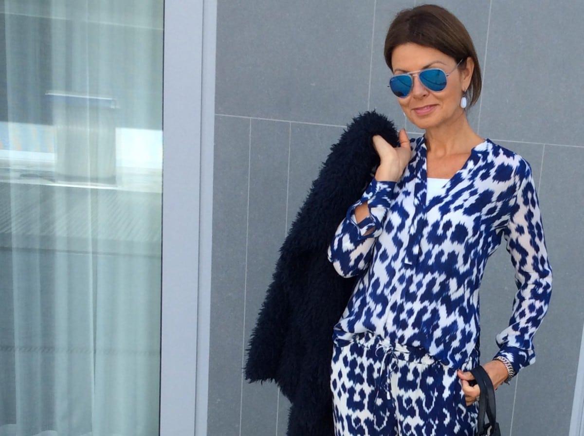 Miriam's Thursday: My faux fur vest