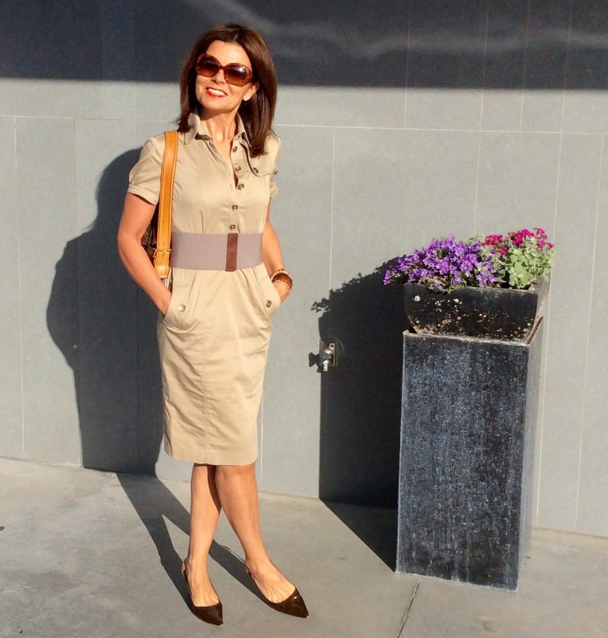 Miriam's Thursday: power pocket dress