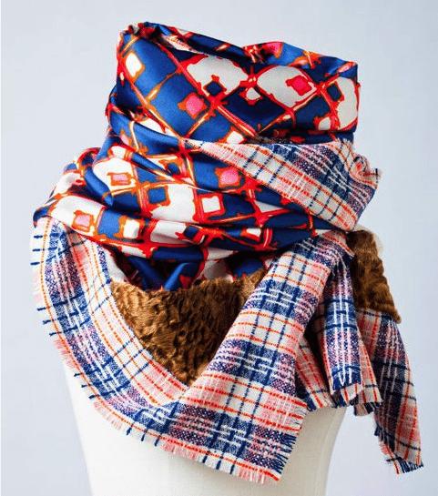 Unieke sjaals van Monsieur Maison