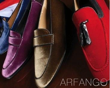 Arfango: mannen op fluweel