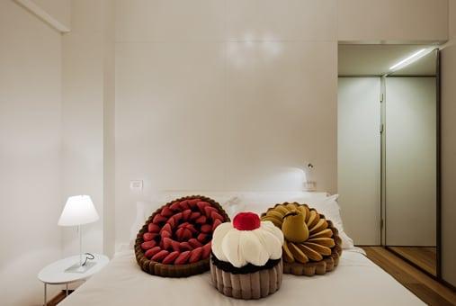 Slapen bij Maison Moschino in Milaan
