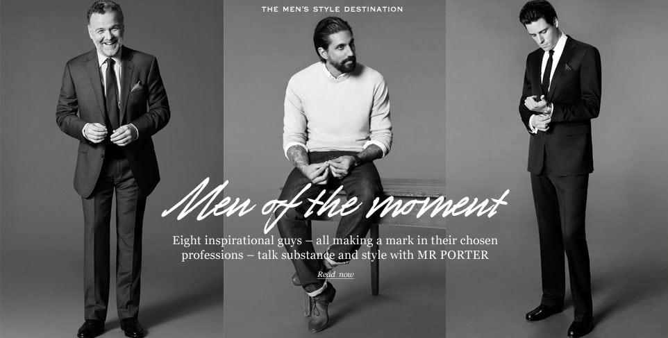 Mr Porter online winkelparadijs