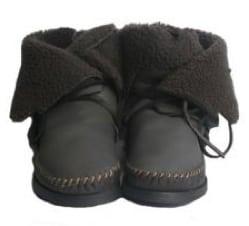 Ahka boots met bontvoering