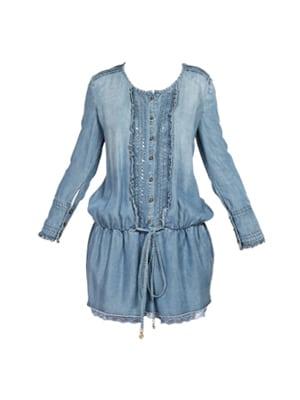 Patrizia Pepe-jurkje in spijkerstof