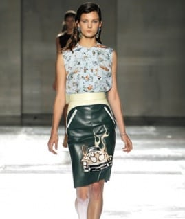 Milaan Fashion Week: Prada 2012