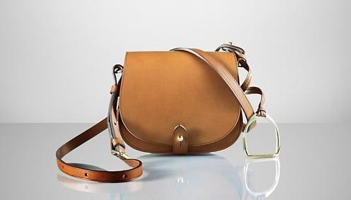 Saddle bag van Ralph Lauren Collection