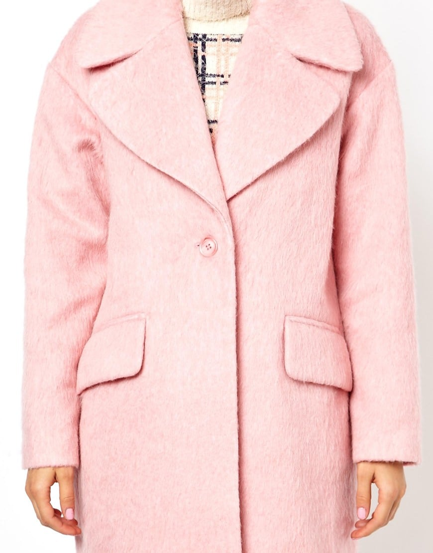 10 x roze winterjas