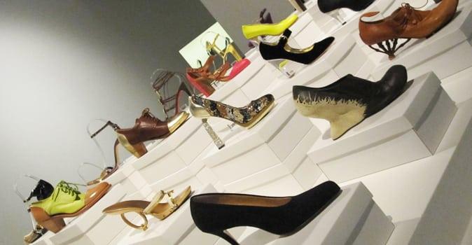 Heel veel shoes in Kunsthal Rotterdam