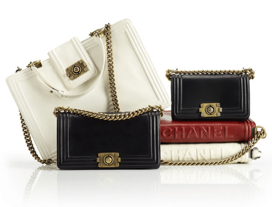 Boy Bag van Chanel is voor haar