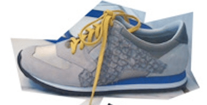 Alexander Wang: sneakers van vissenhuid