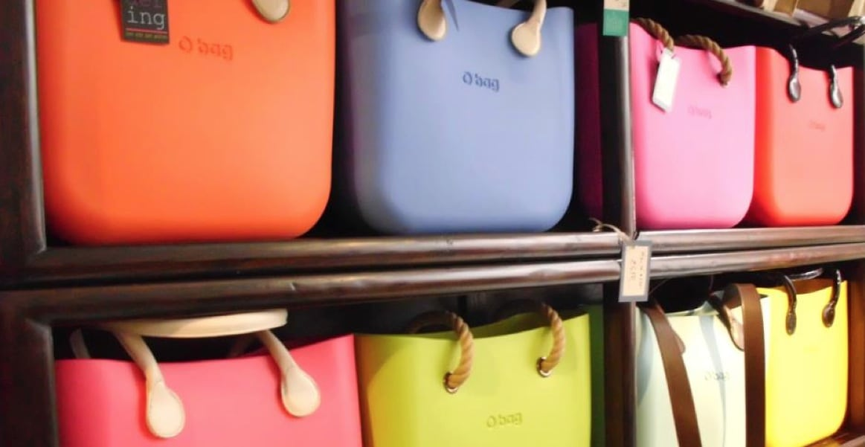 Kleurrijke tassen van O Bag