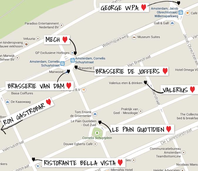 Food & drinks op Cornelis Schuytstraat
