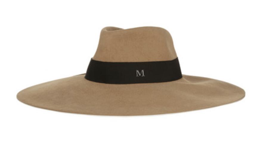 Winterse hoed van Maison Michel